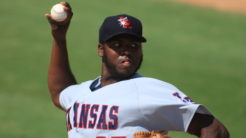 Ariel Pena is tied for second in the Texas League with 86 strikeouts.