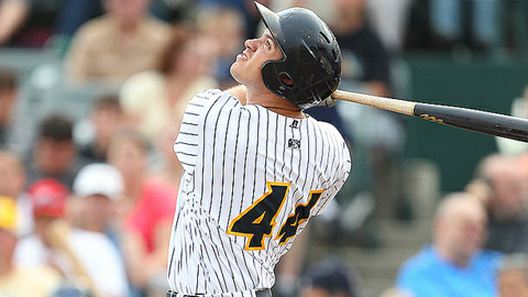 Two-time Eastern Division All-Star Cody Johnson leads the league in homers.
